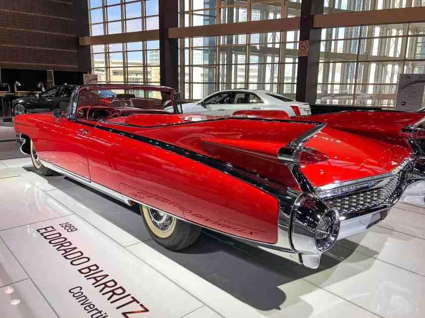 Cherry red 1959 Cadillac Eldorado Biarritz