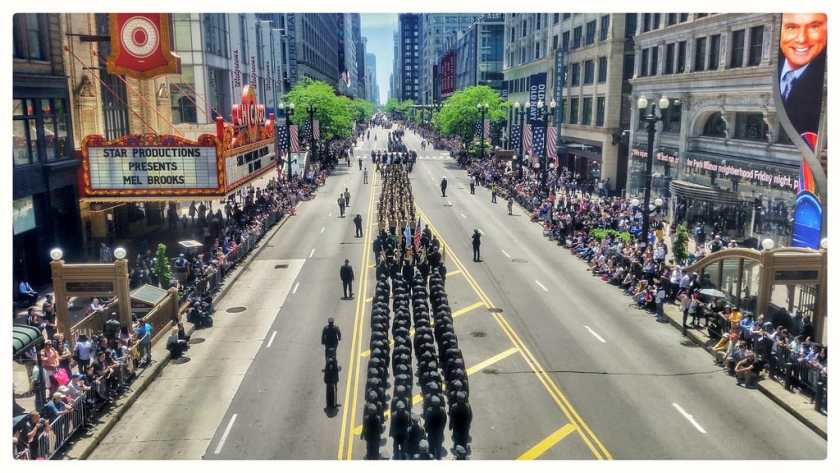 Memorial Day Parade in Chicago