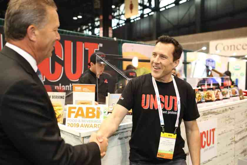 FABI award presentation at the National Restaurant Association Show