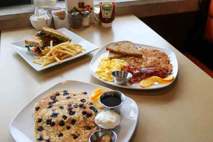 breakfast and lunch entrees at Third Coast Spice Cafe