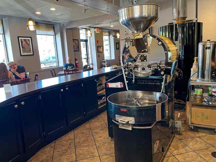 Coffee Roaster at Arcedium Coffeehouse in St. Charles