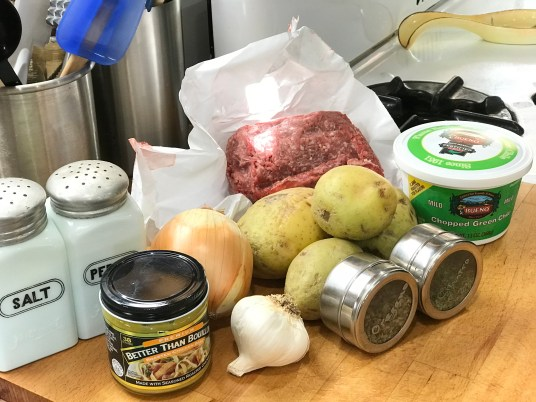 New Mexico Green Chile Stew Ingredients