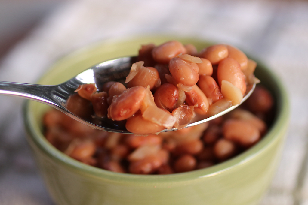 Super Simple Slow Cooker Pinto Beans