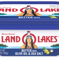 Land O Lakes Butter with Olive Oil & Sea Salt, 7 oz. - Walmart.com
