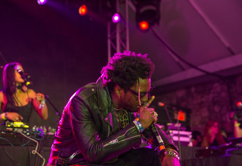 Saint Jhn Performs At The BBQ Stage – SXSW Takeover Day 2