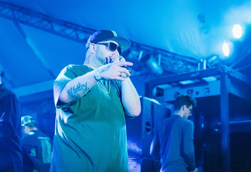 Statik Selektah Joins Dave East On Stage – SXSW Takeover Day 2