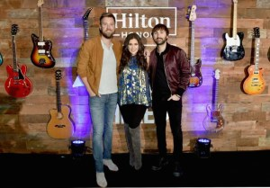 Lady Antebellum Performs For Fans And Hilton Honors Members In Nashville As Part Of Music Happens Here