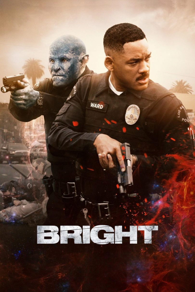 "Poster for the movie ""Bright"""