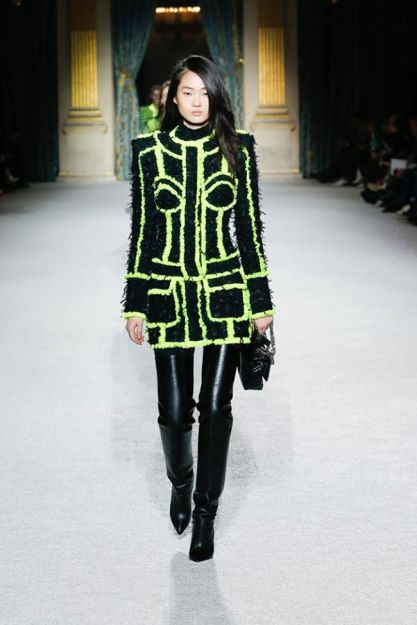 Balmain Fall 2018 Collection at Paris Fashion Week – See Pics!