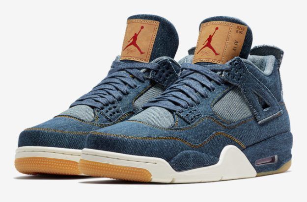 Levi's x Air Jordan 4 Sneaker Collabo – Details Here!