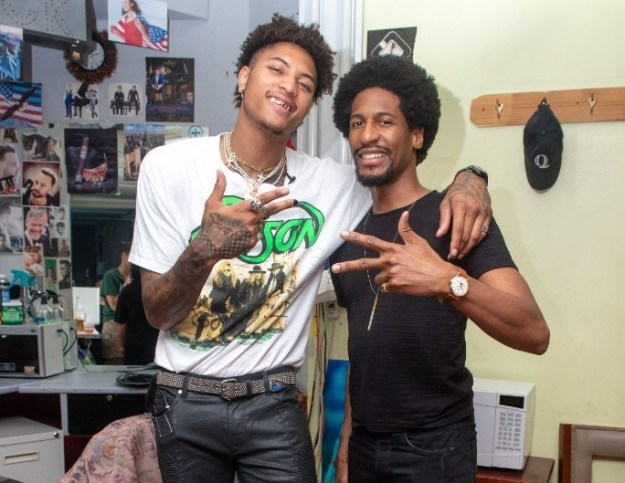 Jon Batiste Attends Hawthorne x Kelly Oubre Jr Fragrance Launch Party For NYFW – Pics Here!