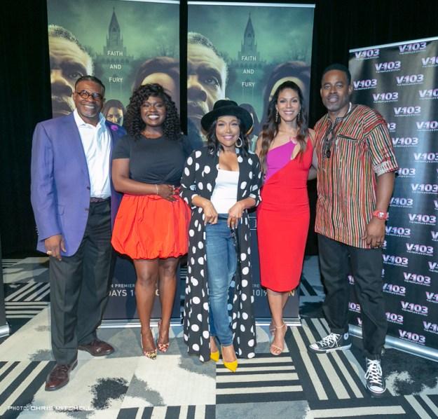 """Greenleaf"" Cast Watch Season 3 Premiere with Atlanta Fans – Pics Here!"