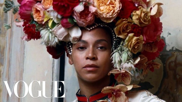 Beyonce's Vogue Cover Shoot Behind-the-Scenes Video – Watch Here!