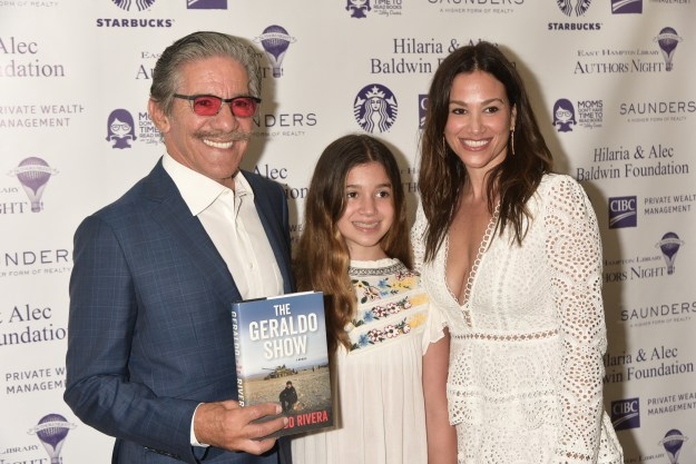 Iconic Broadcaster & Author Geraldo Rivera's The Geraldo Show: A Memoir joined East Hampton Library's 14th Annual Authors Night – Pics + Details Here!