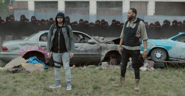 "Eminem Drops ""Lucky You"" Video ft. Joyner Lucas – Watch Here!"