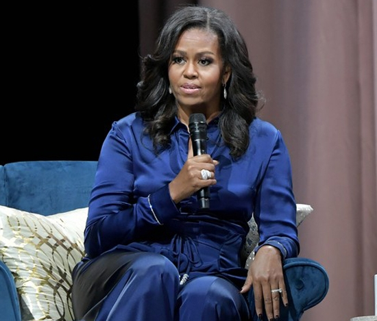 "Michelle Obama Shows-off Her Drip While Promoting New Book ""Becoming"" – Pics Here!"