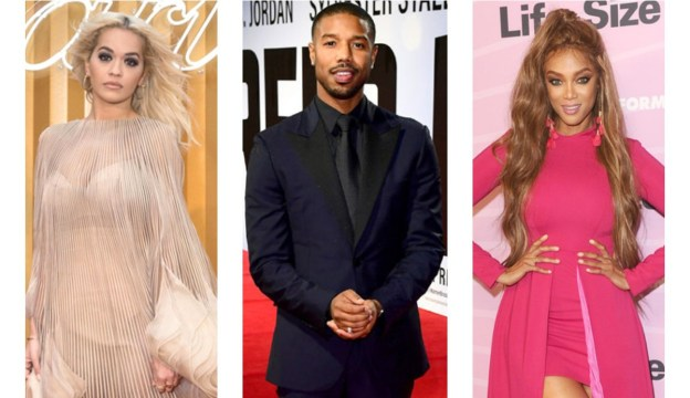 Pics: Michael B. Jordan, Tyra Banks, Rita Ora and Other Celebrities at Various Events – View Here!