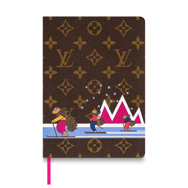 Louis Vuitton Drops its 'Bears on Skis' Accessories Christmas Collection – Photos Here!