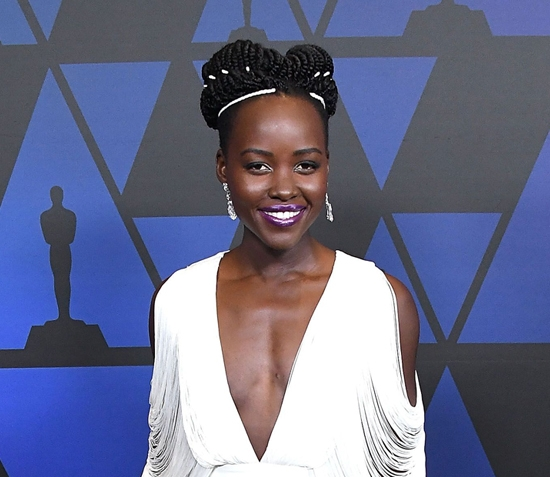 Lupita Nyong'o Rolls Up to Governors Awards 2018 in Tom Ford – Photos Here!