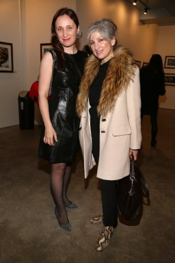 NEW YORK, NY - JANUARY 24: Helena Litvak and Stephanie Oster attend Cocktails To Benefit Global Strays And A Private Showing Of Modern Images Of The Natural World at Novo Locale on January 24, 2019 in New York. (Photo by Sylvain Gaboury/PMC) *** Local Caption *** Helena Litvak;Stephanie Oster