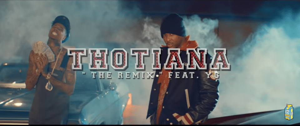 """Rising LA-Rapper BlueFace Drops Video for """"Thotiana-The Remix"""" ft"""