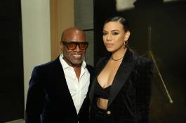 LEFT TO RIGHT: L.A. REID & DINAH JANE