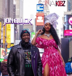 DJ Jon Quick & Nigerian model Sana Kibz Making history on WBLS with AfroFlava Radio