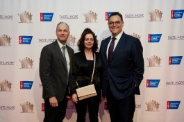 -Geraldine Hughes with guest, Mark D Friedman