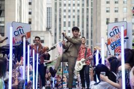 Citi Concert Series on TODAY presents Jonas Brothers at Rockefeller Plaza on June 7, 2019 in New York City. Photo credit: Tyler Essary
