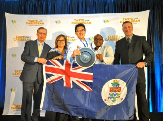 Jason Thomas Ao of the Cayman Islands is the 2019 Caribbean Chef of the Year