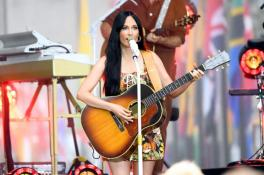 Kacey Musgraves performs onstage during Citi Concert Series On TODAY Presents Kacey Musgraves at Rockefeller Plaza on July 19, 2019 in New York City