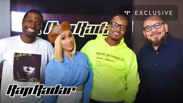 Watch Cardi B and T.I. Discuss Rhythm and Flow, Breaking Boundaries, & More On TIDAL's Rap Radar