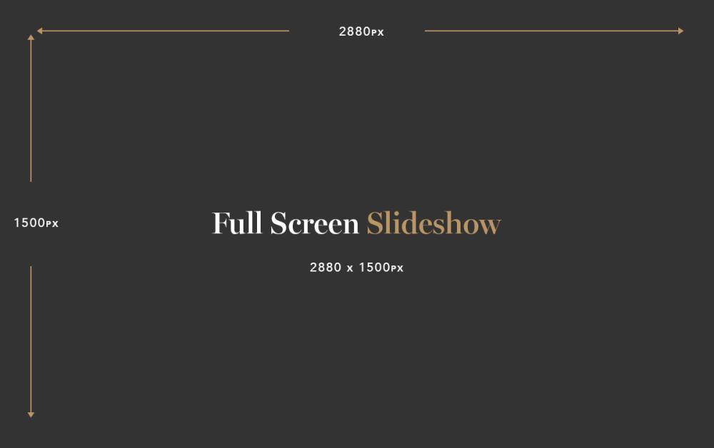 Full Screen Slideshow