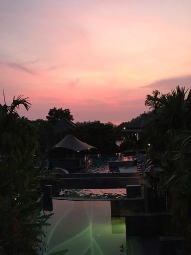 Sunset at Cheeva Spa, Mandarava