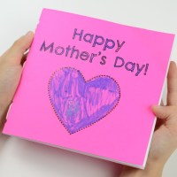 MOTHER'S DAY BOOK | KID'S CRAFT