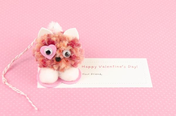 Pompom Pet Valentine Cat 3
