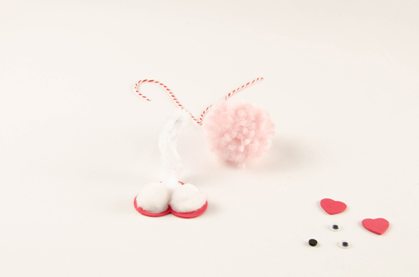 Pompom Pet Valentines step 5