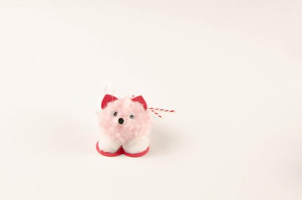 Pompom Pet Valentines step 7