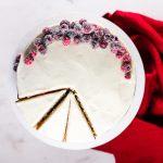 Cranberry Apple Cake - Flour Covered Apron