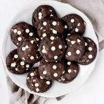 Dark Chocolate + White Chocolate Chip Cookies | Flour Covered Apron
