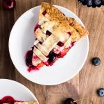 Cherry Berry Peach Pie | Flour Covered Apron