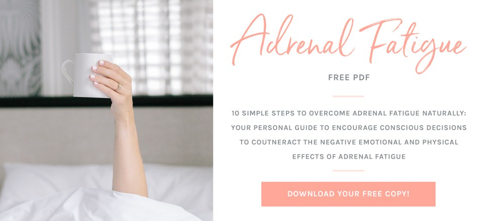 Overcome Adrenal Fatigue Naturally