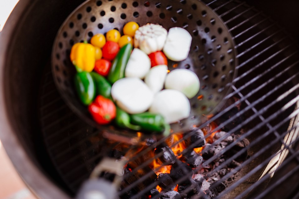 Fire Roasted Habanero and Garlic Salsa by Colorful Eats