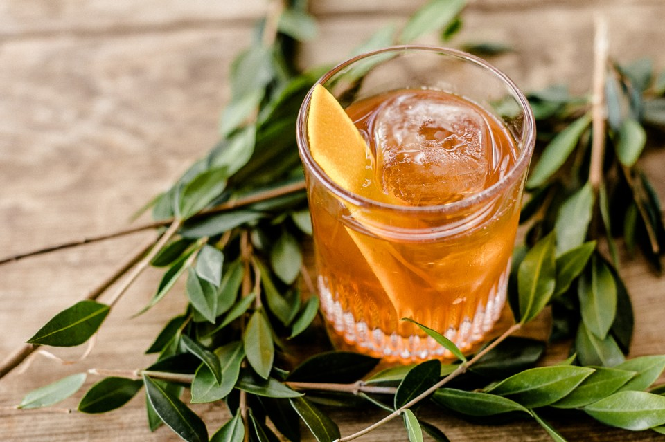 Chai Maple Vodka Old Fashioned