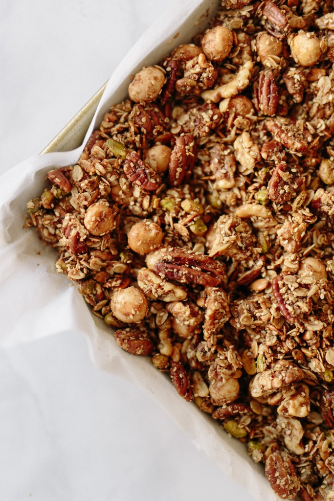Gluten-Free, Low Sugar Granola | Flourish Blog