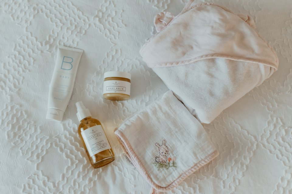 Organic Baby Bath Time | Flourish by Caroline Potter NTP