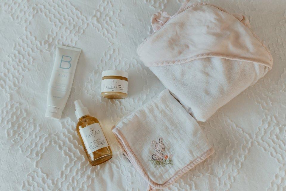 Organic Baby Bath Time | Flourish by Caroline Potter NTP