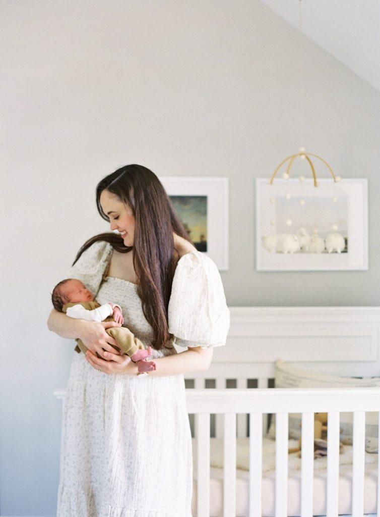 Minimalist Postpartum + Newborn Essentials Flourish Caroline Potter NTP