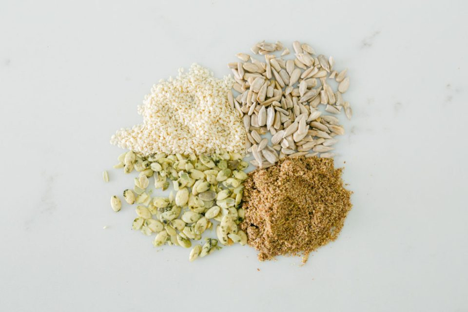 Seed cycling for hormones incorporates eating several types of seeds throughout your cycle.