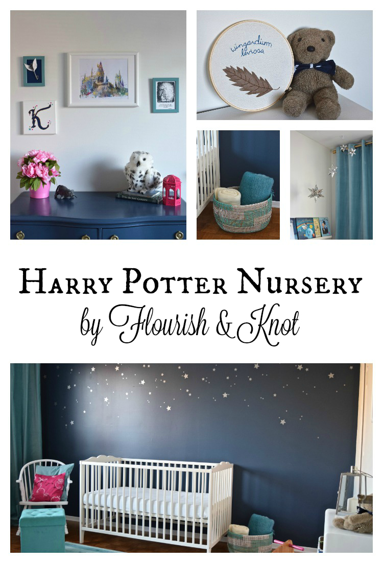 Harry Potter Nursery REVEAL One Room Challenge